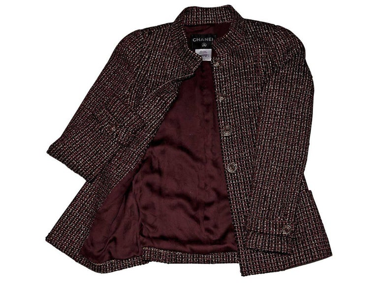 Women's Multicolor Chanel Boucle Jacket For Sale