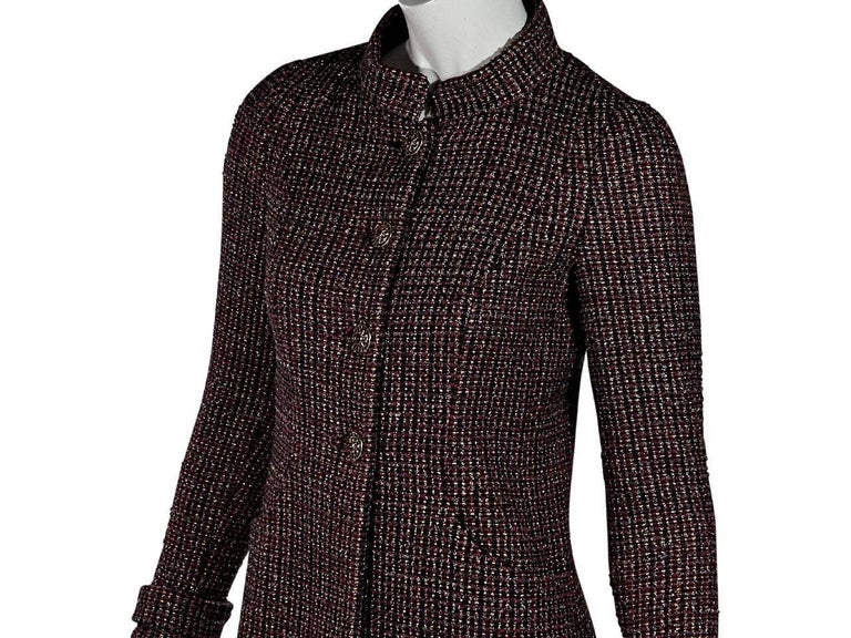 Multicolor Chanel Boucle Jacket In Excellent Condition For Sale In New York, NY