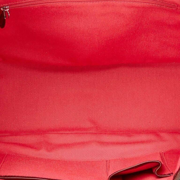 Black Céline Fiber Tote Bag 7