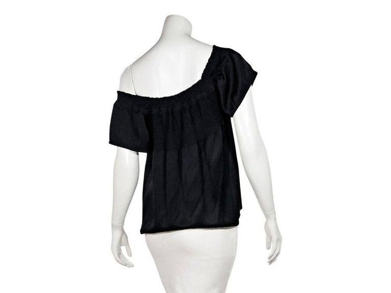 Black Chanel Off-The-Shoulder Top 3