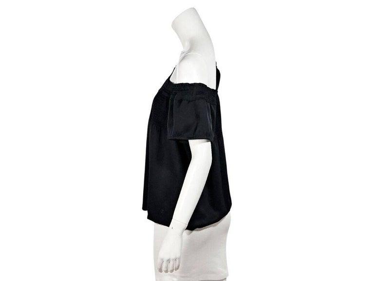 Black Chanel Off-The-Shoulder Top 2