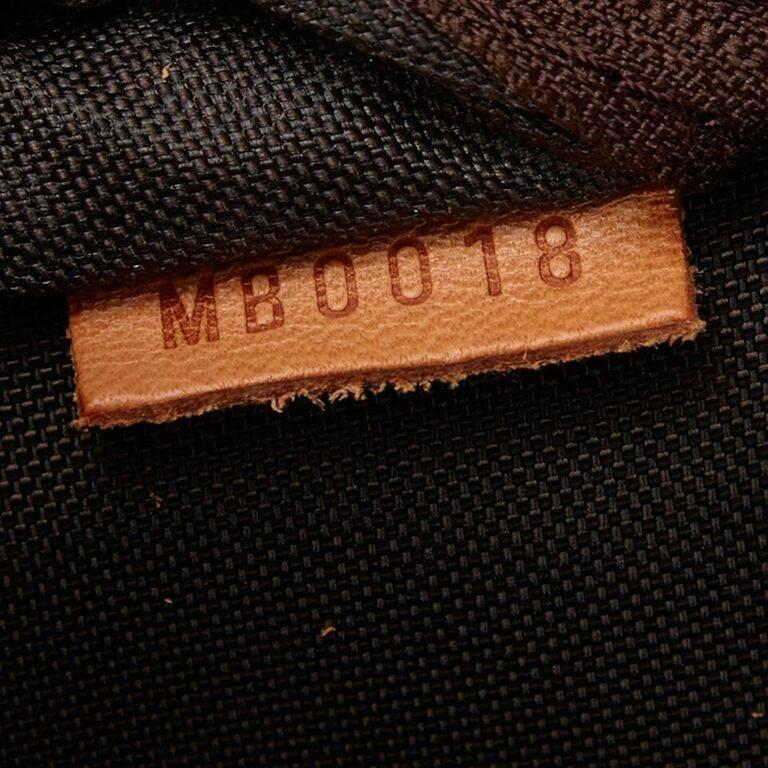 Louis Vuitton Brown Bosphore 50 Trolley Suitcase For Sale 2