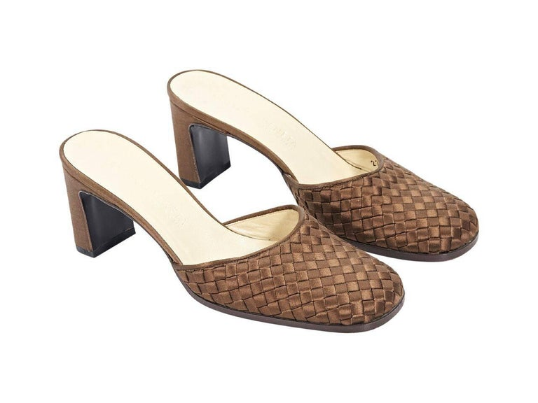 Bottega Veneta Sequined Slingback Mules For Cheap Price Outlet Store Sale Online Low Price Fee Shipping For Sale High Quality Cheap Online Q9jNmw4Jj3