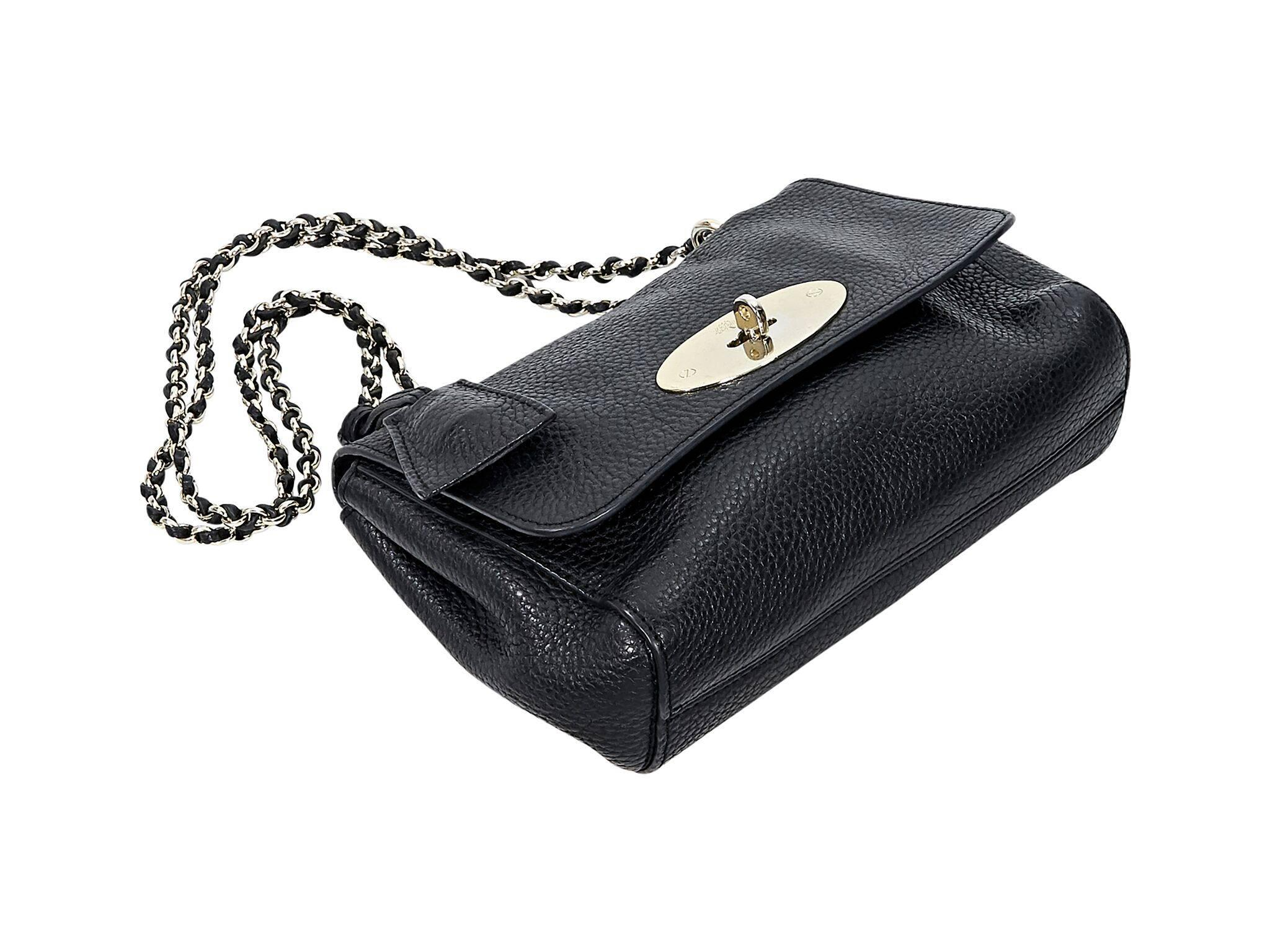 1d6178ac05 ... coupon code mulberry black lily leather shoulder bag in good condition  for sale in new york