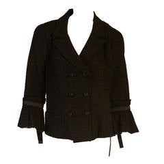 2009 Chanel Black Jacket with Bows