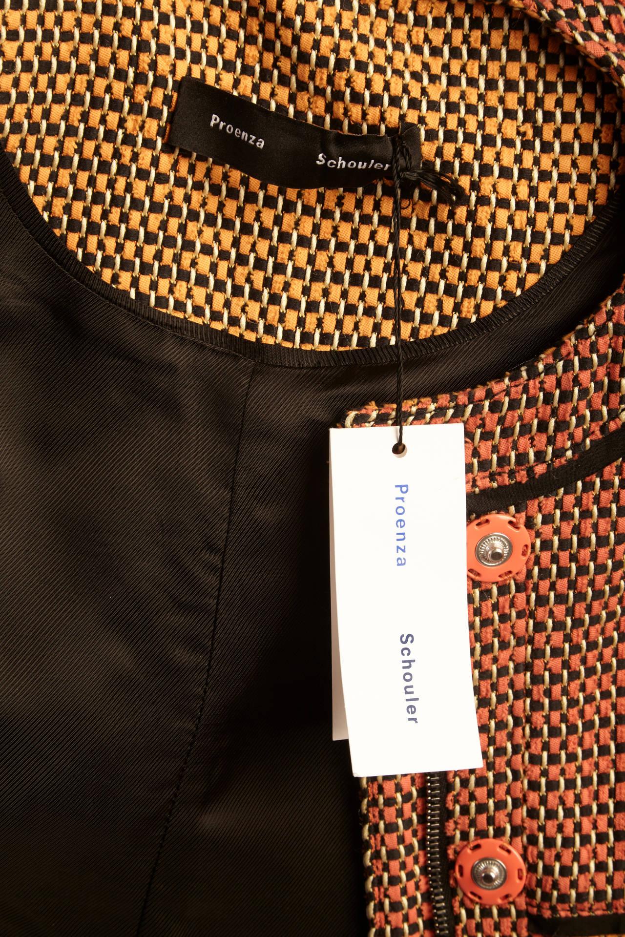 Proenza Schouler Multi-Color Jacket 10