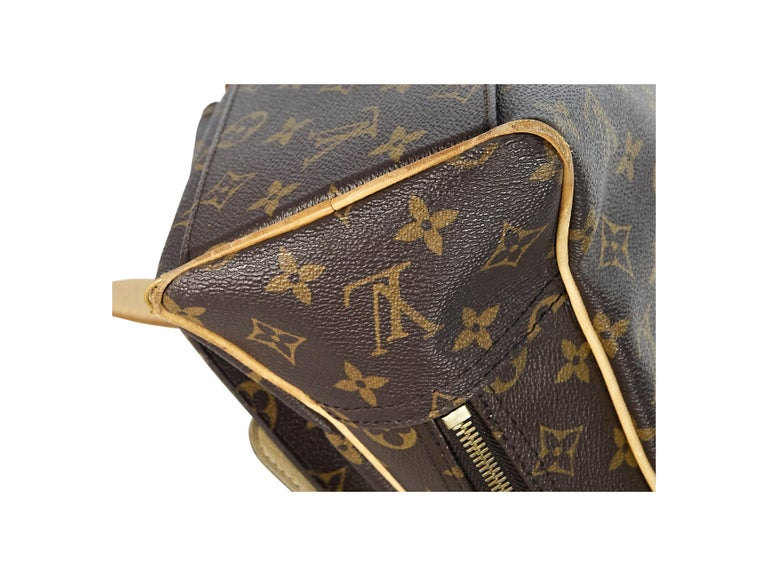 Louis Vuitton Brown Monogram Manhattan GM Bag In Good Condition For Sale In New York, NY