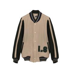 Issey Miyake Sports I.S Bomber Stadium College Jacket 1984