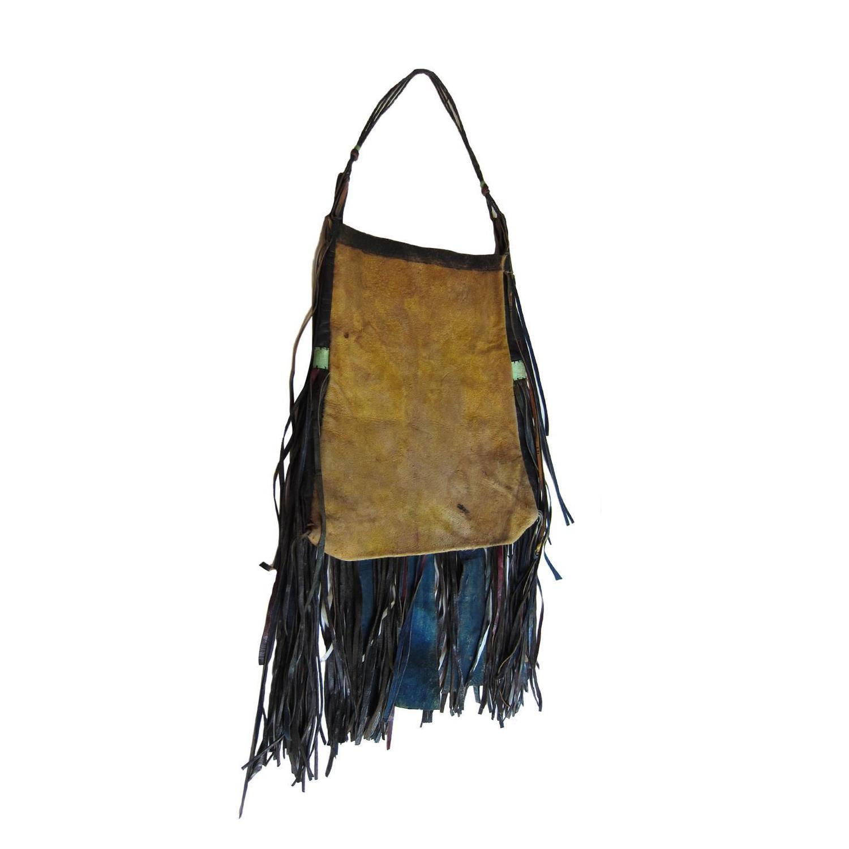 1stdibs African Tuareg Leather Tribal Pouch Fringe Bag fTvjvZBF