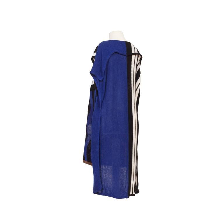 Kansai Yamamoto Kabuki Knit Dress 1980s  2