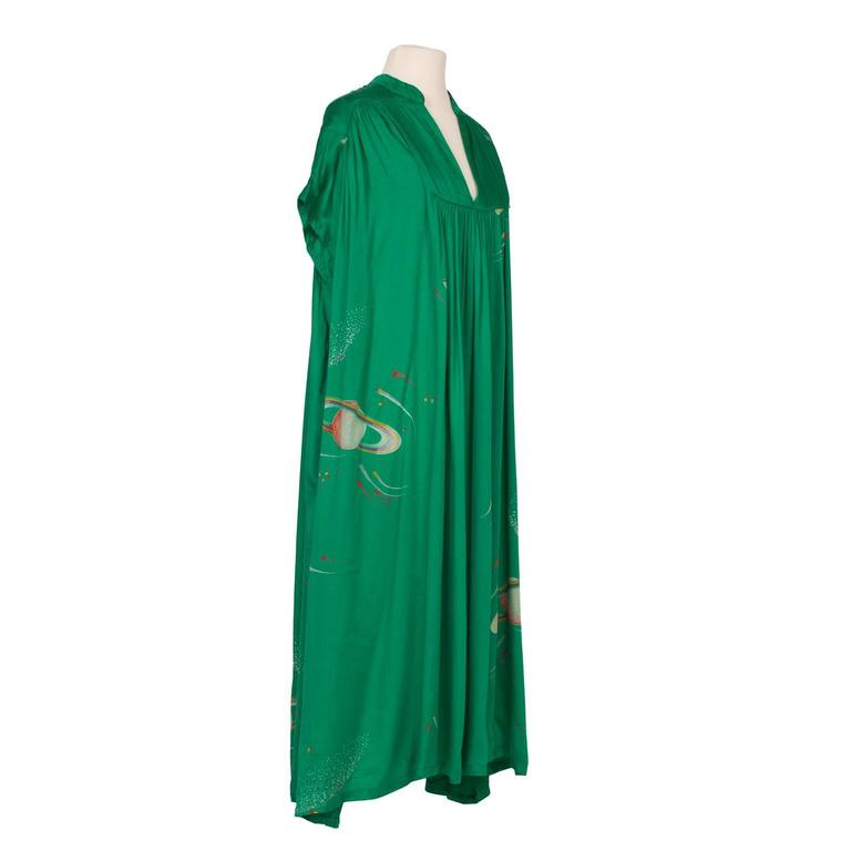 Chacok Paris Green Planet Dress 1970s 3