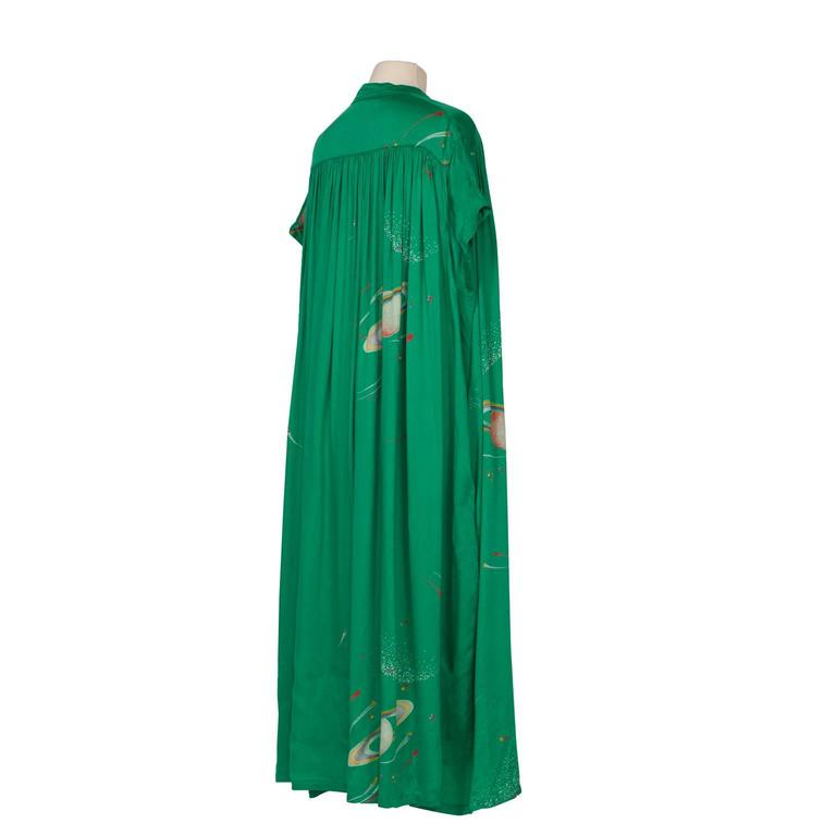 Chacok Paris Green Planet Dress 1970s 6