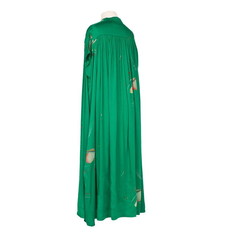 Chacok Paris Green Planet Dress 1970s 5