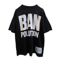 Katharine Hamnett Ban Pollution Slogan Tshirt