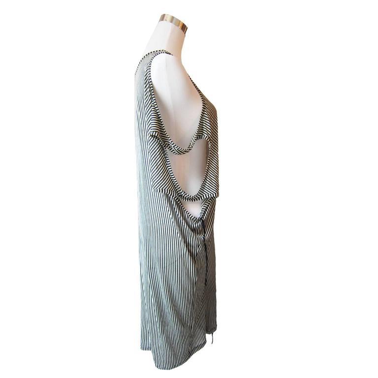 Ann Demeulemeester Asymmetric Tank Dress SS 2008 4