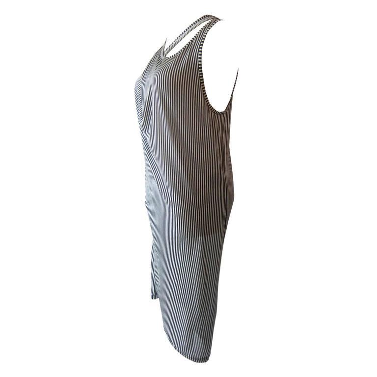 Ann Demeulemeester Asymmetric Tank Dress SS 2008 2