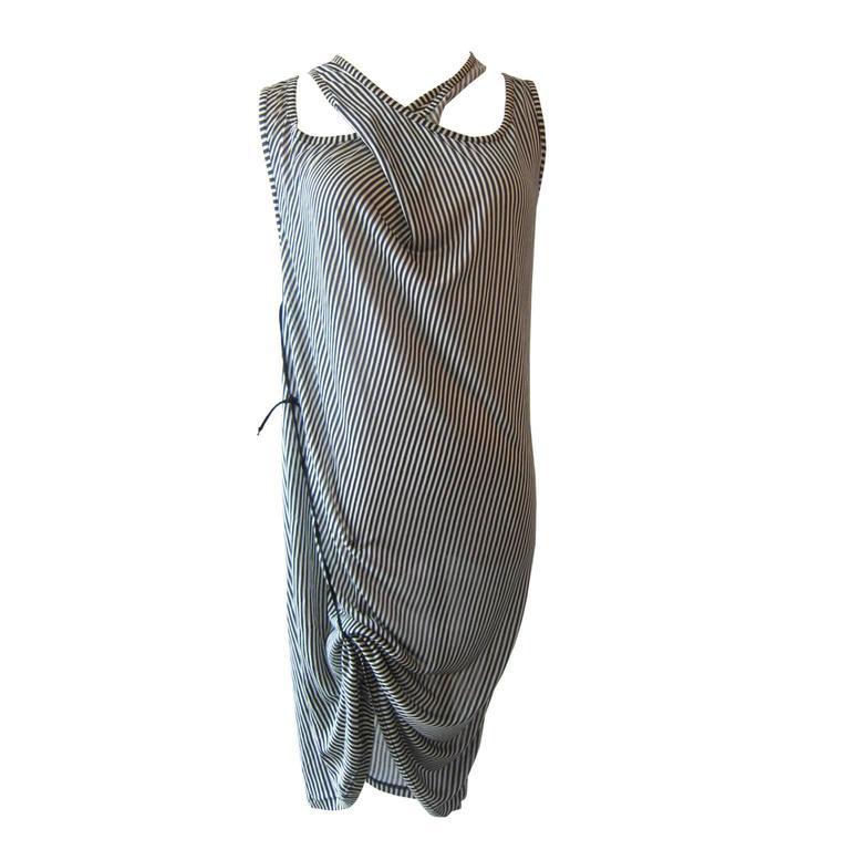 Ann Demeulemeester Asymmetric Tank Dress SS 2008 3