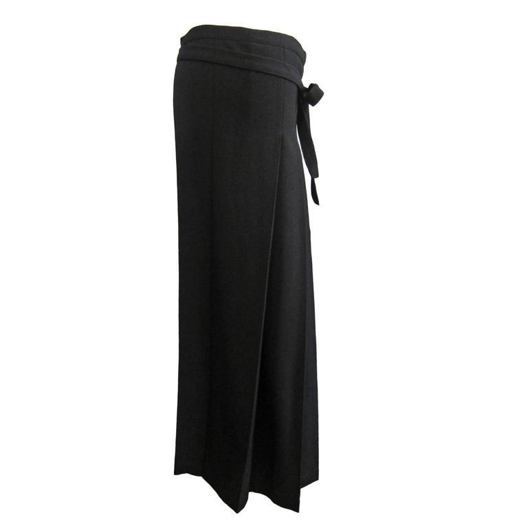 comme des garcons robe de chambre pleats wrap skirt ad1998. Black Bedroom Furniture Sets. Home Design Ideas