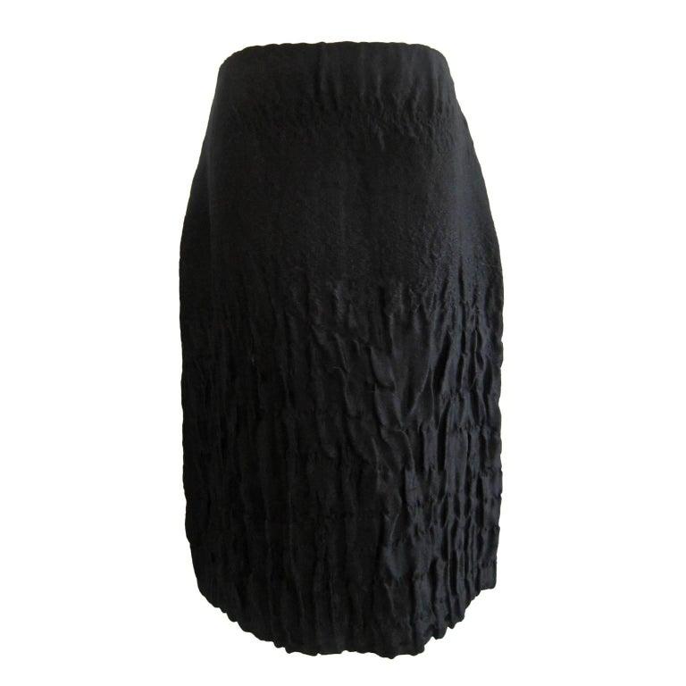 Prada Black Skirt Collection AW 2007