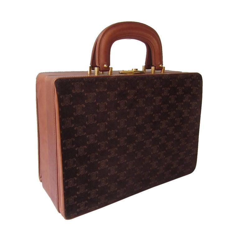 Celine Mini Suitcase 1970s  For Sale 1