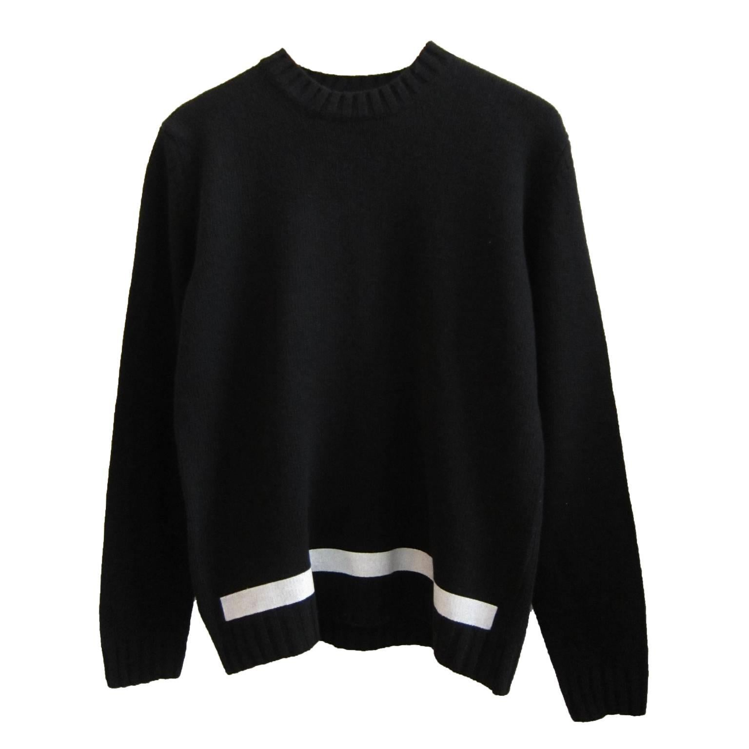 Helmut Lang Black Pullover New With Tag 1997