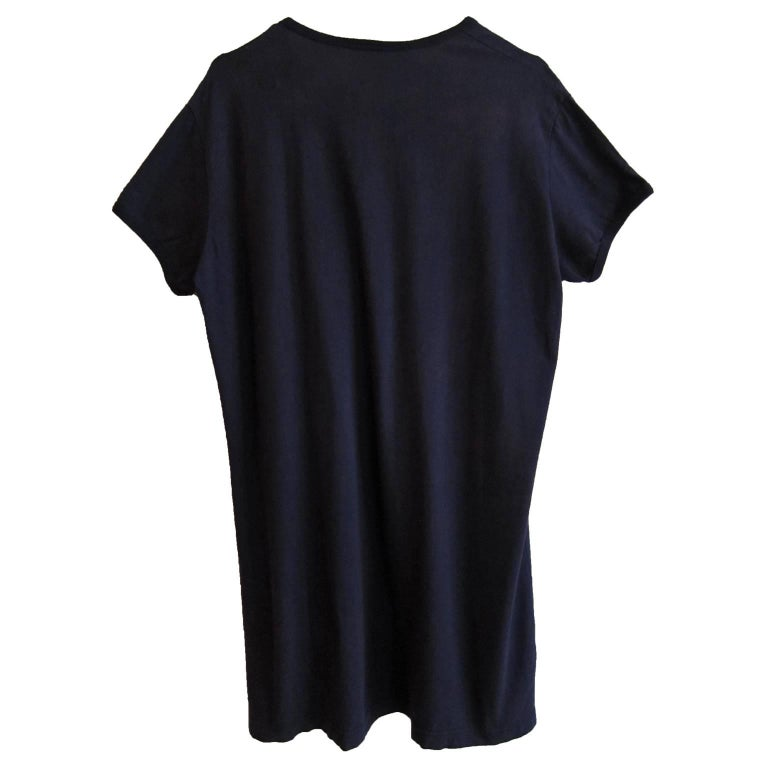 Rare Vivienne Westwood ejaculating penises navy jersey t shirt from circa 1994. Size : L Shoulder : 45 cm Length : 75 cm Under arm : 54 cm