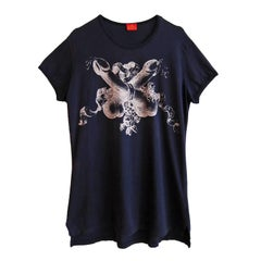 Vivienne Westwood Two Crossed Penises T shirt 90's