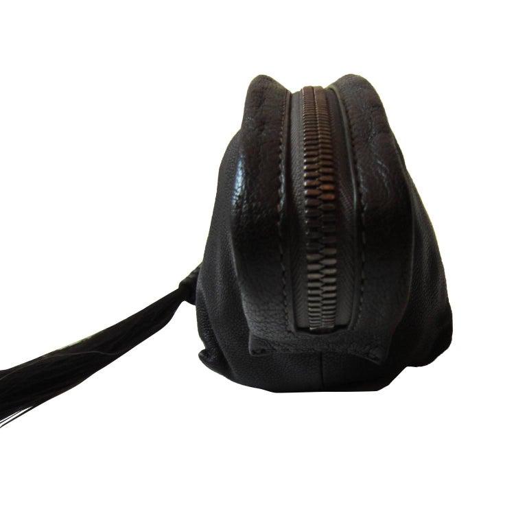 dd17ce92a182 Women s Helmut Lang Black Horse Hair Zip Clutch For Sale