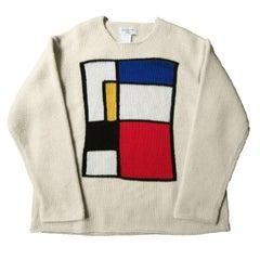 Yohji Yamamoto Mondrian Sweater 90s