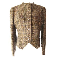Chloe by Karl Lagerfeld Tweed Jacket, 1980s