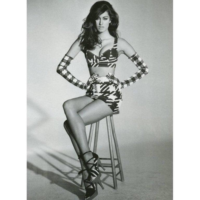 Azzedine Alaia Tati Jacket Bustier Shorts And Skirt 4 piece Set, S / S 1991 For Sale 7