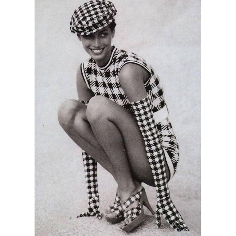 Azzedine Alaia Tati Jacket Bustier Shorts And Skirt 4 piece Set, S / S 1991 For Sale 8