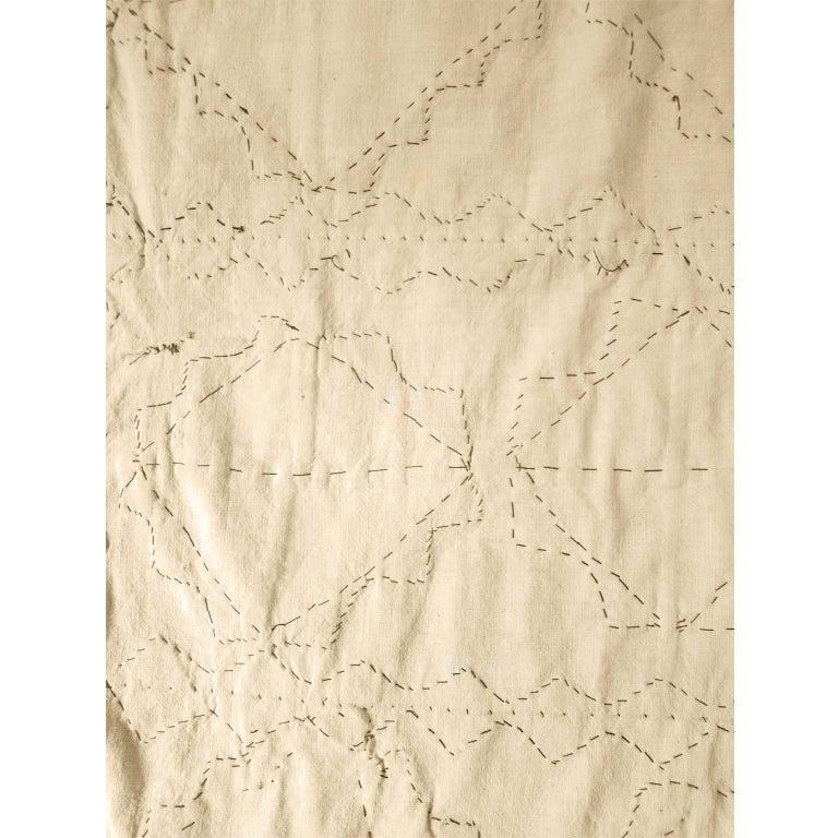 Antique Suzani Patchwork Orient Quilt Uzbekistan For Sale 1