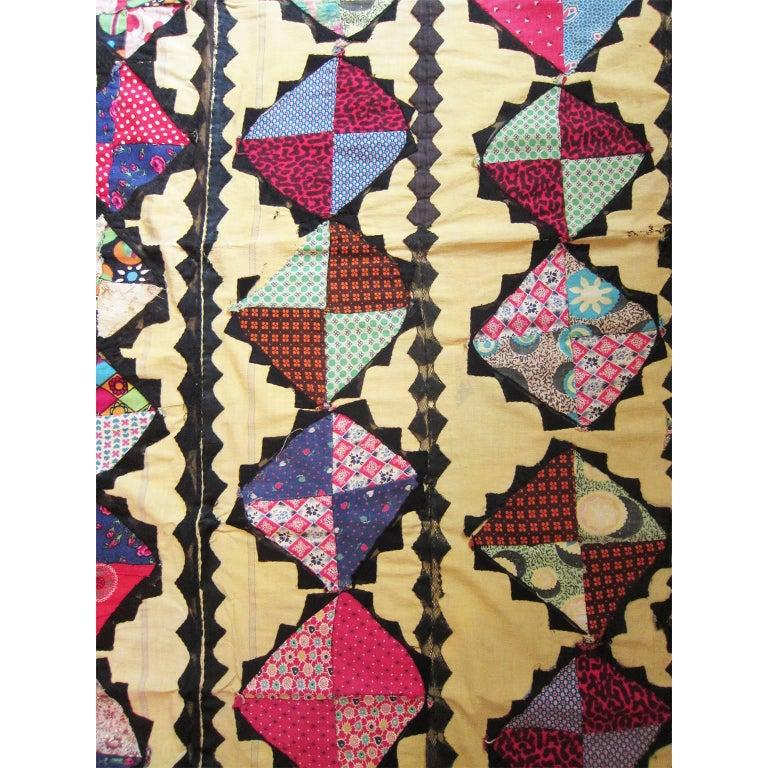 Antique Suzani Patchwork Orient Quilt Uzbekistan In Excellent Condition For Sale In Berlin, DE