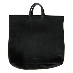 Helmut Lang Archive Tote Bag Black Felt