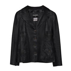 Chanel Classic Four Pockets Jacket Leather
