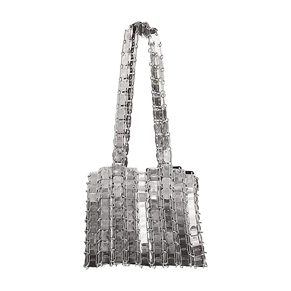 Paco Rabanne Metal Chain Shoulder Purse