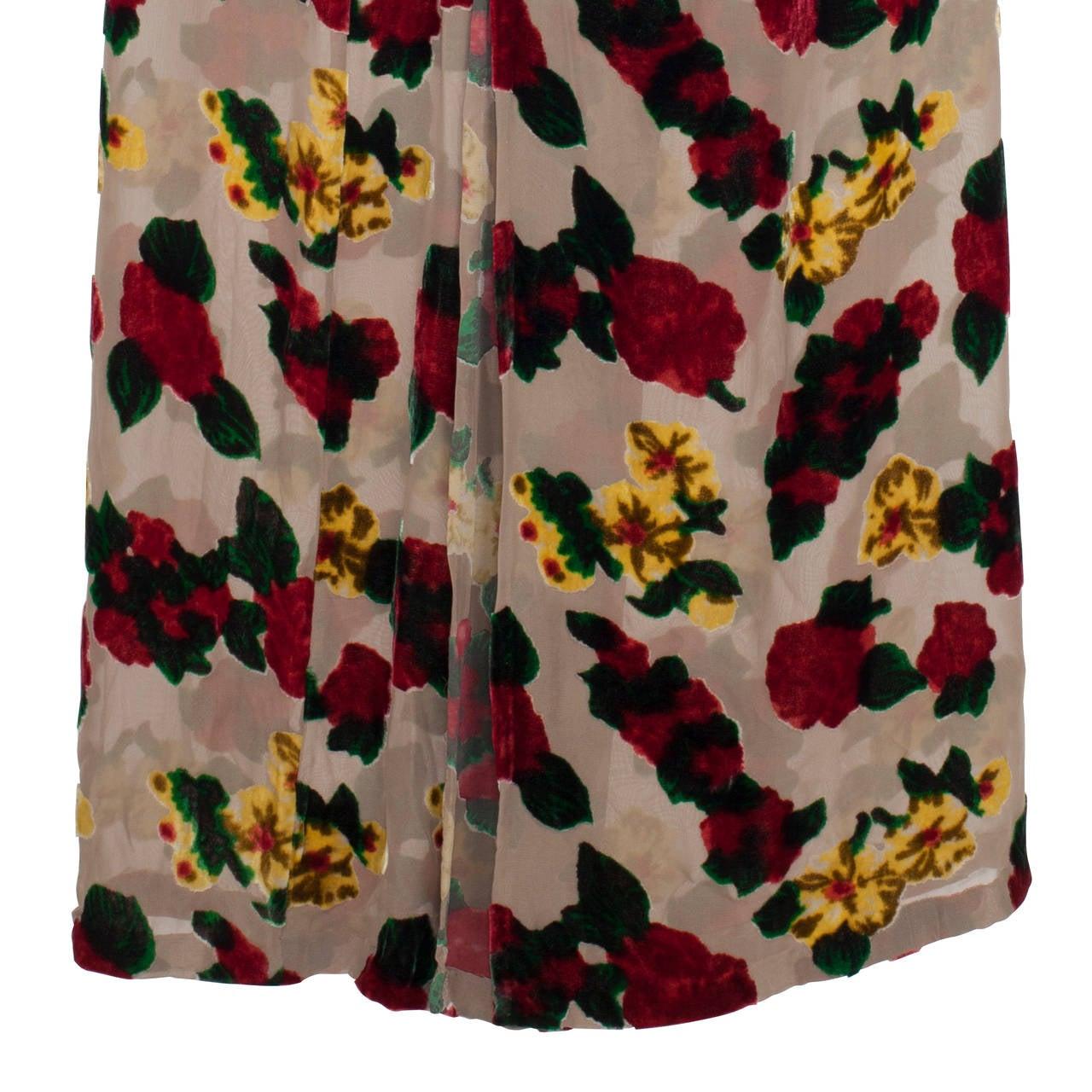 Yohji Yamamoto Sheer Skirt 1997 For Sale 2