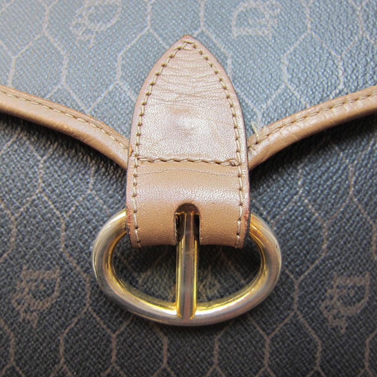 Christian Dior Logo Shoulder Bag 1980s For Sale 1