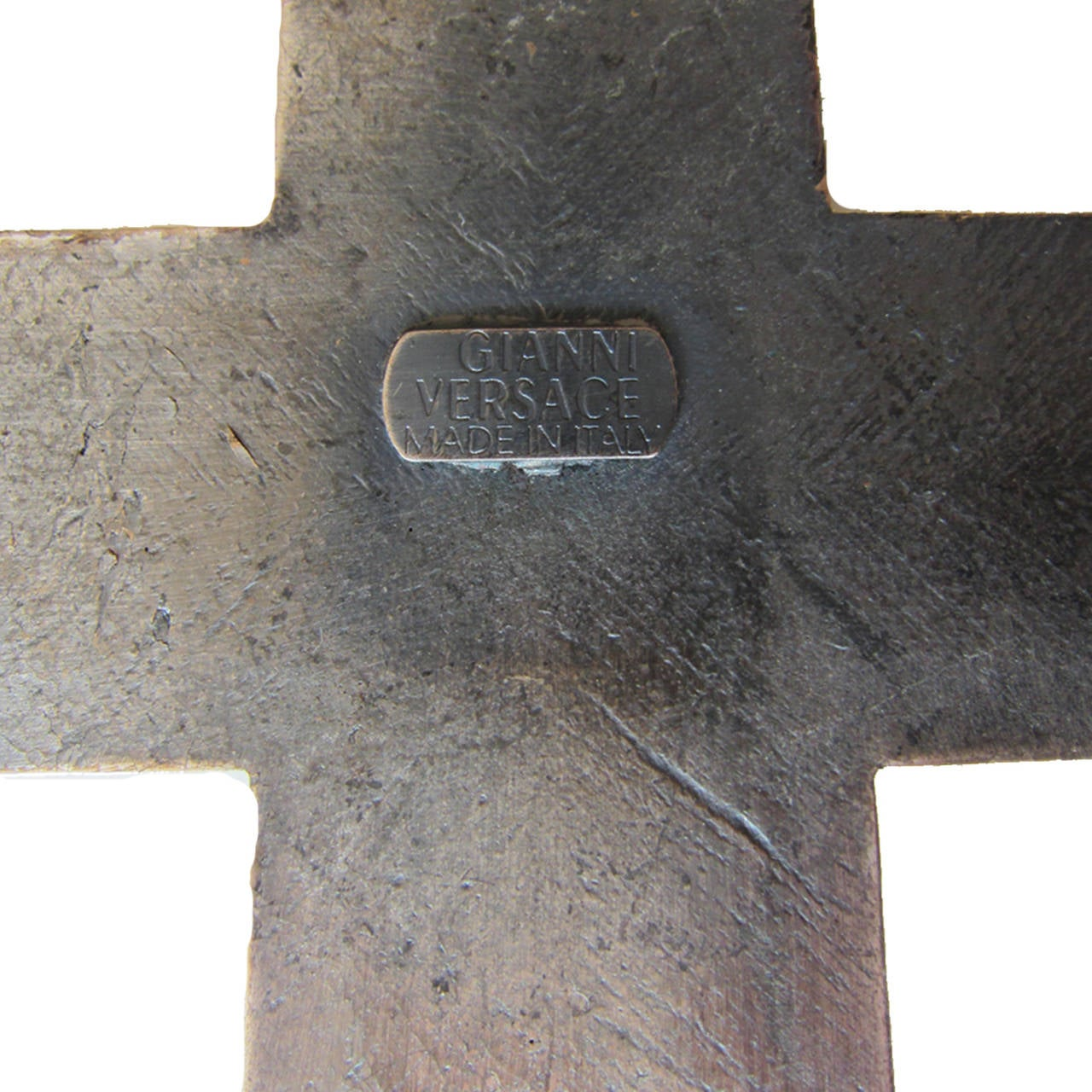 Gianni Versace Massive Cross Necklace 1990's 5