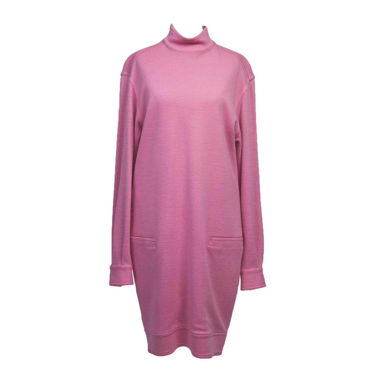 Gianni Versace Pink Dress 1990's