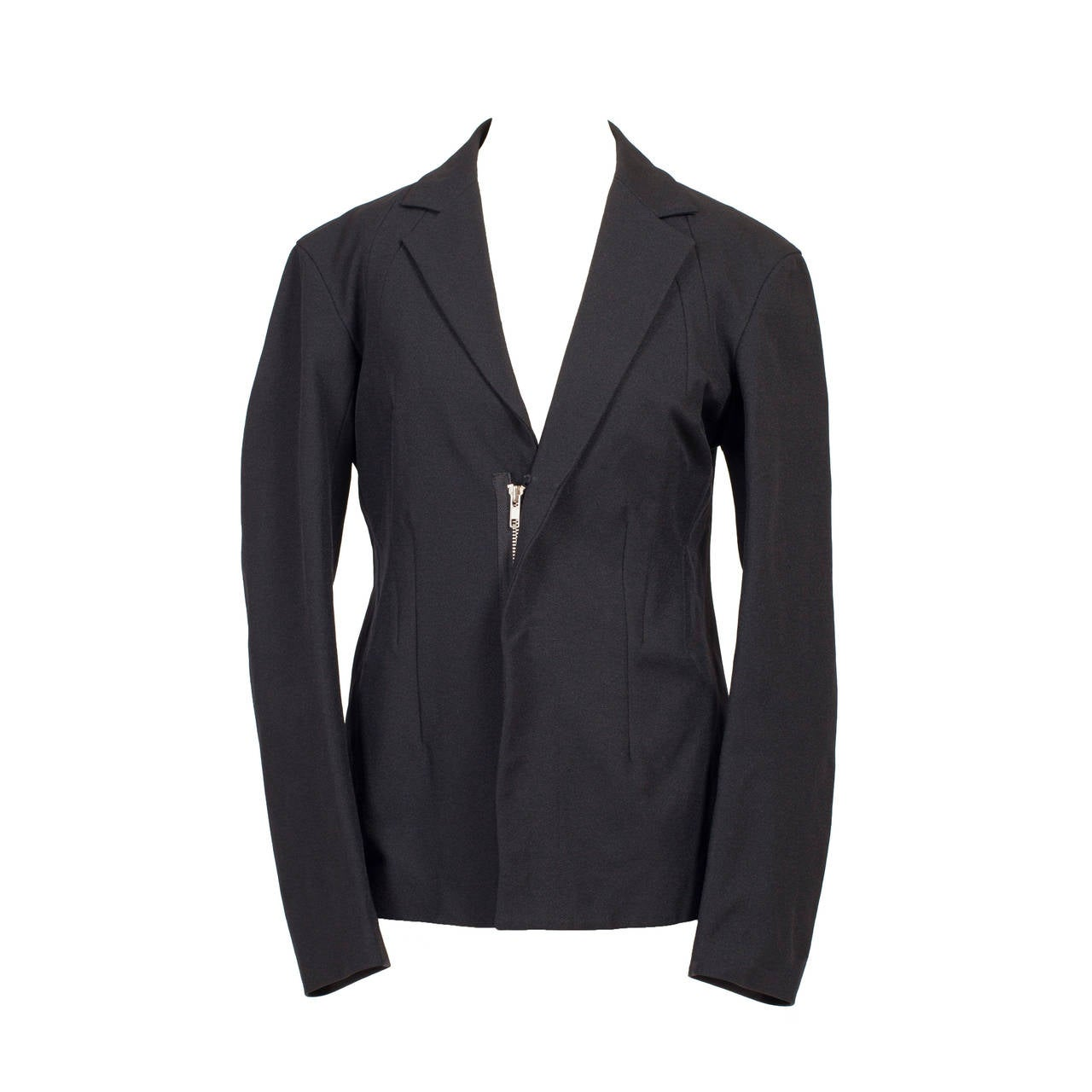 Yohji Yamamoto Y's Black Zip Jacket