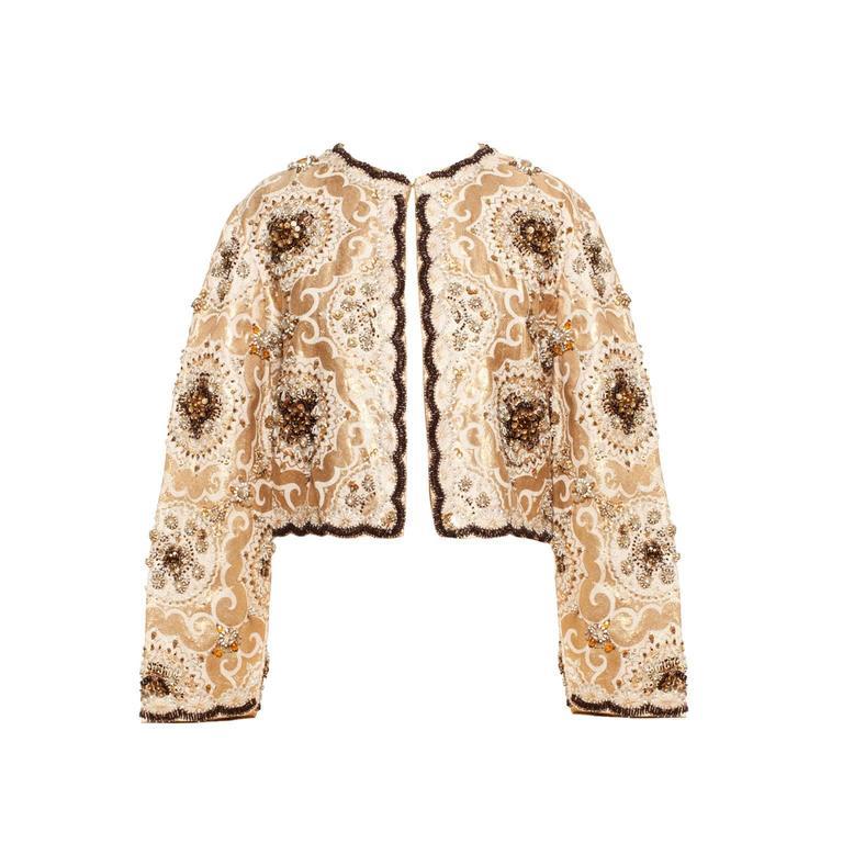 Beaded Bolero Jacket