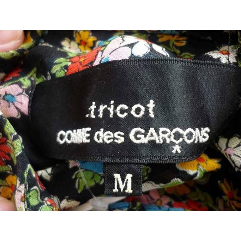 Comme des Garcons Tricot Flower Blouse AD 2005 For Sale 2