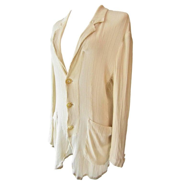 Matsuda Nicole Light Shirt Jacket Blouse 1980s