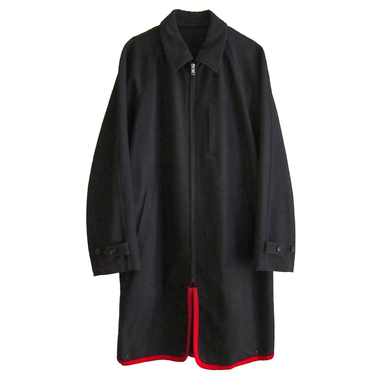 Comme des Garcons Charcoal Two Way Coat, 1999
