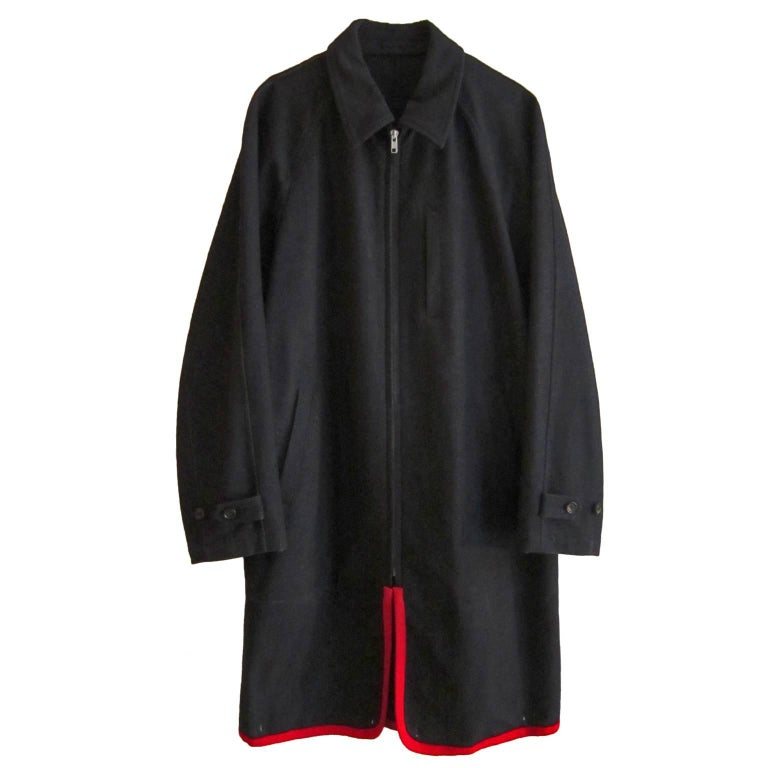 Comme des Garcons Charcoal Two Way Coat, 1999