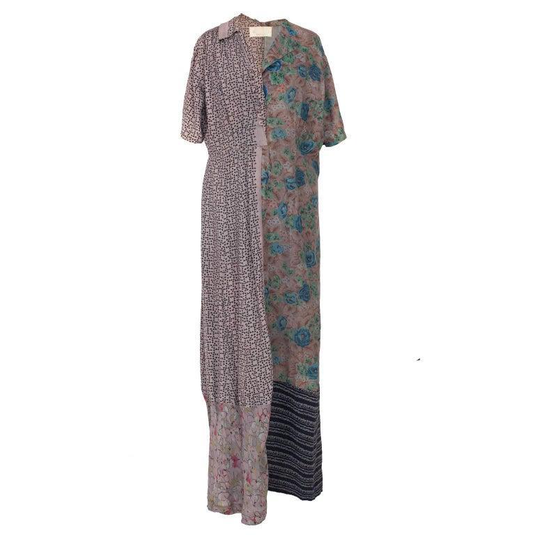 Martin Margiela Artisanal Flower Patch Dress, 1993 / 1994