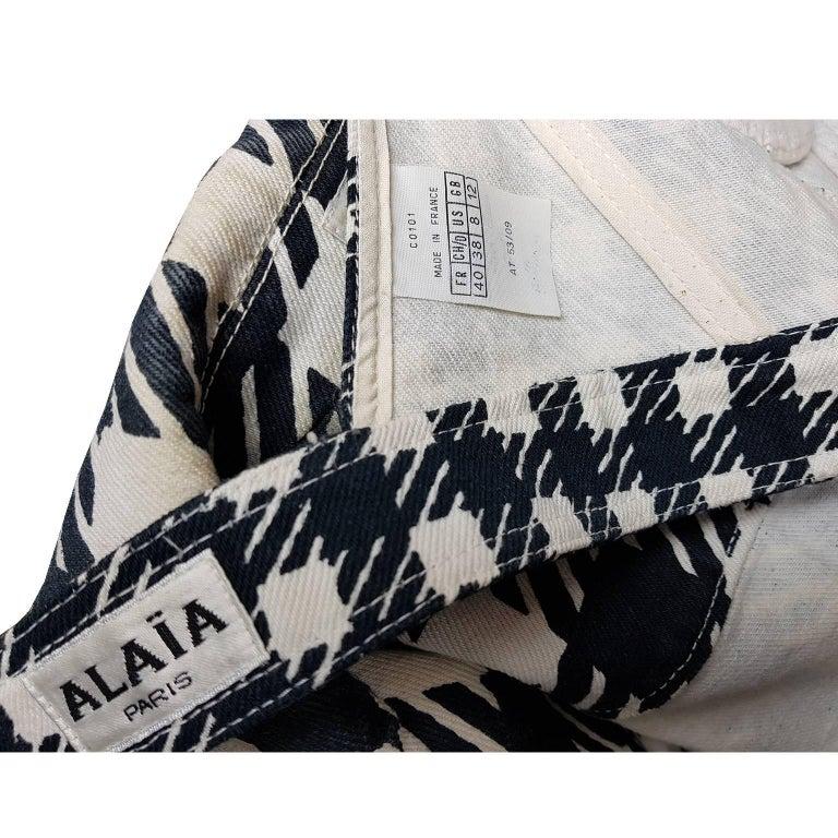 Azzedine Alaia Tati Jacket Bustier Shorts And Skirt 4 piece Set, S / S 1991 For Sale 6