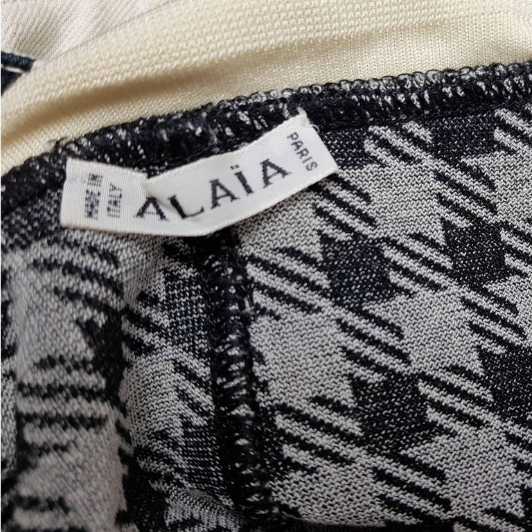 Azzedine Alaia Tati Jacket Bustier Shorts And Skirt 4 piece Set, S / S 1991 For Sale 4